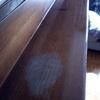 Reparacion tabla barnizada