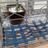 Tapizar asiento sofa exterior 2 plazas con textilene