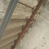 Retira tejado de uralito de caseta de patio