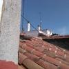 Construcción de bancada en caída de tejado