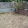 Cambiar césped jardín por loseta hidráulica