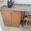 Ajustar marmol de la cocina