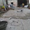 Solado de patio con adoquines