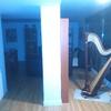 Mueble pladur con armario y cajones madera por abajo