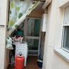 Cierre aluminio/puerta para patio