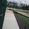 Reparación césped artificial pista de padel