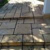 Transformar baldosas rusticas del porche en pavimento continuo