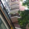 Pintar barandillas de terrazas en una comunidad de vecinos