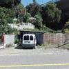 Muro bloque hormigon entrada a finca 1 metro + vallado 1 metro