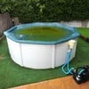 Limpieza puntual piscina desmontable