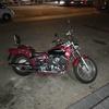 Pintar moto custom
