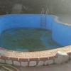 Revestir piscina de obra y hacer escalera