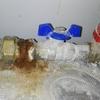 Fuga y oxidacion tuberia agua caliente
