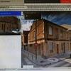 Rehabilitar las dos fachadas de las dos calles