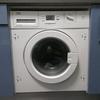 Adaptar bisagras de puerta lavadora integrada