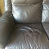Sustituir espuma de dos sillones de piel chocolate reclinables