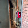 Cambiar chimenea caldera gasoil