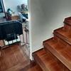 Instalar silla en escalera con curva