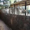 Colocación de cercado metálico y brezo de 2 x 30 m