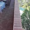 colocar baldosines en el muro de la terraza
