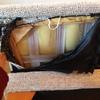 Arreglar estructura de un sofa arreglar listón de 80 cm de madera que va por dentro de la tapicería