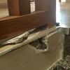 Pegar marmol partido en escalera