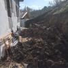 Reconstrucción muro de contención caído
