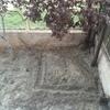 Construcción de pequeña piscina