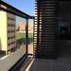 Cerramiento tendedero (aluminio) y terraza (cortina de cristal) tipo lumon