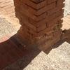 Reformar columnas de ladrillo de unos soportales