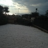 Echar cemento en mi jardin