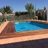 Reparar suelo de pie alrededor piscina