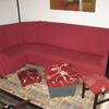 Tapizado y arreglo sofá de cinco módulos , tapizado de ocho sillas y dos puf