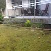 Ampliar terraza sobre jardín existente