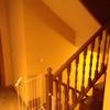 Cerramiento de escalera con cristal