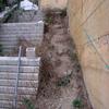 Fabricación y Colocación de Escalera de Hierro Pintada en el Exterior