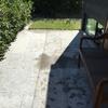 Limpieza suelo exterior piedra