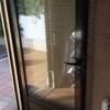 Fabricación e instalación puerta aluminio exterior