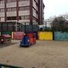 Pintar muro colegio en madrid
