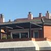 Pérgola de aluminio en terraza