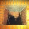 Puerta chimenea