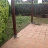 Quitar tierra vegetal e instalar cesped artificial (5,00x1,50 m = 7,50 m2) + 40 m2