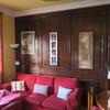 Pintar pared de madera con blanco efecto envejecido