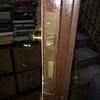Cambio cerradura puerta entrada piso