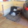 Solar y enfoscar trozo pequeño en garaje