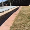 Reforma de piscina con escalera y borde