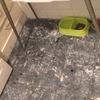 Pulir suelo hidraulico recuperado de cocina