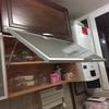 Reparacion mecanismo puerta armario levadizo