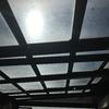 Limpieza cristales en techo móvil