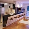 Integrar cocina y salón en piso de nueva construción